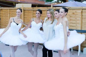 Сценическая практика для учеников в школе танцев inballetwork.com