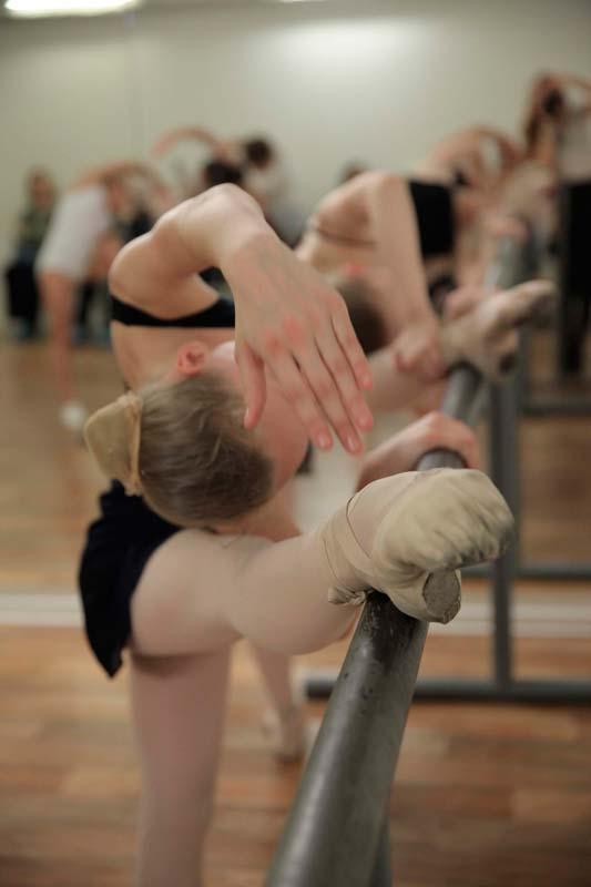 Урок классического танца