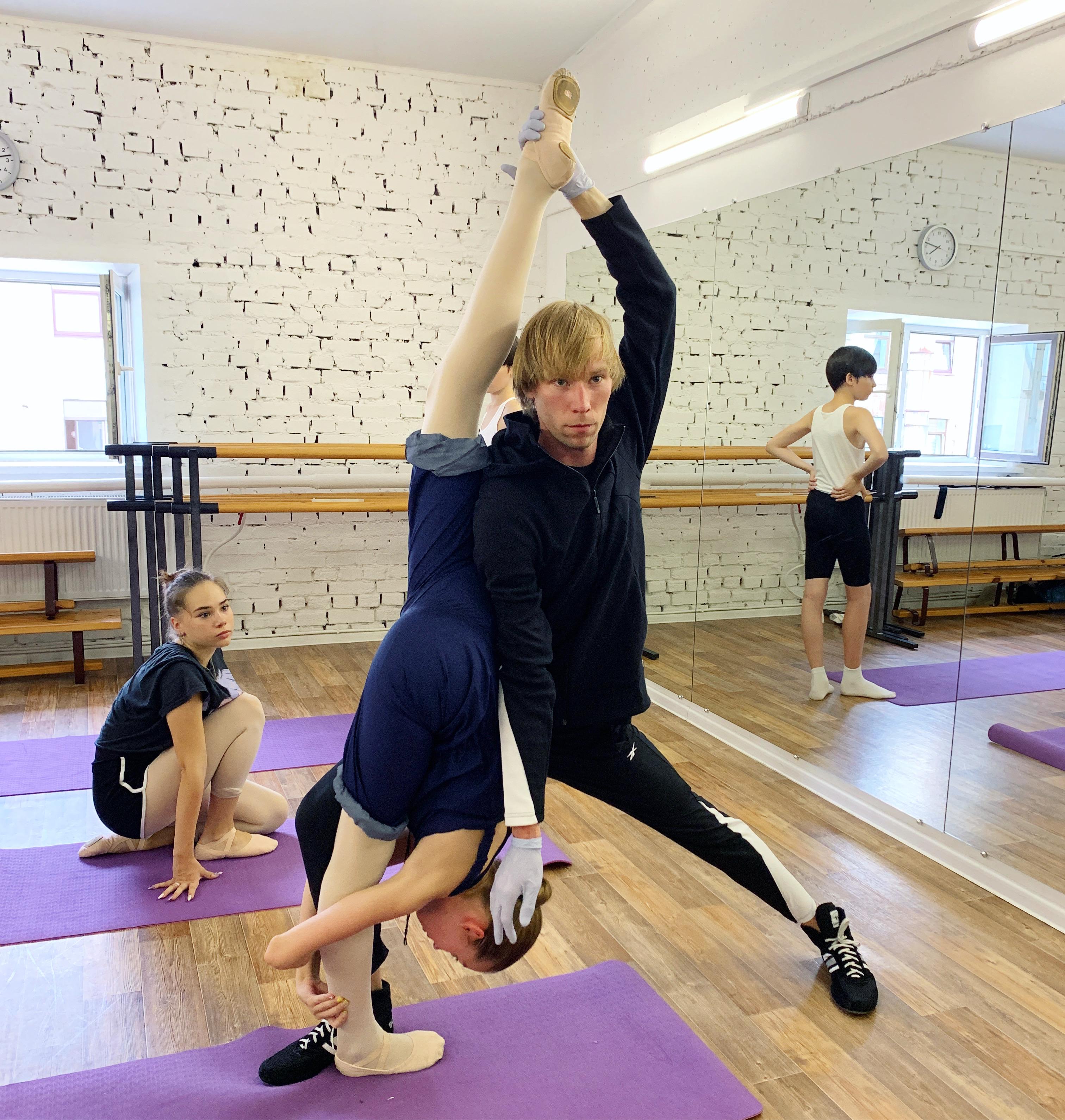 Stretching | занятия балетом в СПБ