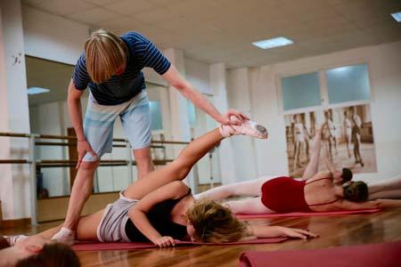 Балетные занятия для начинающих