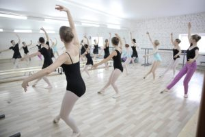 уроки детского балета