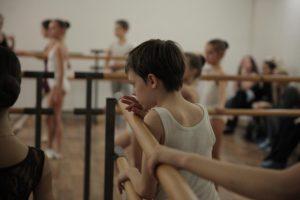 балет тренировка дети