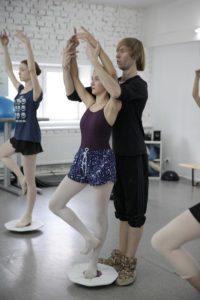 урок классического балета