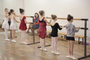 классический танец на пуантах
