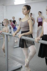 занятия классическим балетом