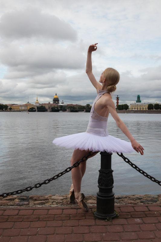 балерина в Питере
